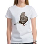 Brown Teager Pigeon Women's T-Shirt