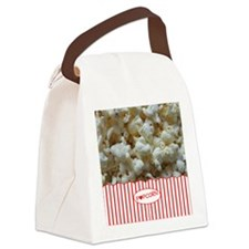 Popcorn Lover Canvas Lunch Bag
