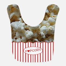 Popcorn Lover Bib