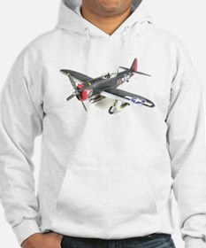 Funny P 47 thunderbolt Hoodie