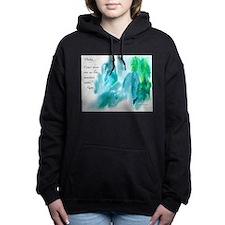 Rumi Tranquil Mountains Women's Hooded Sweatshirt