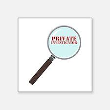 Private Investigator Sticker