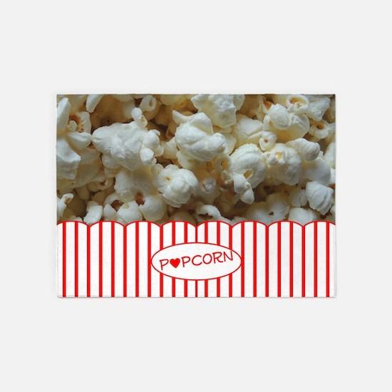Popcorn Lover 5'x7'Area Rug