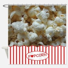 Popcorn Lover Shower Curtain