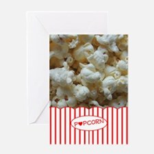 Popcorn Lover Greeting Cards