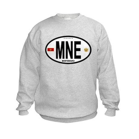 Montenegro Intl Oval Kids Sweatshirt