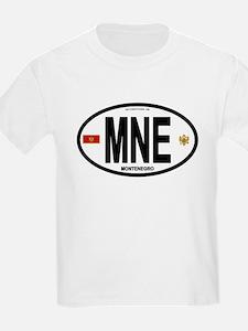 Montenegro Intl Oval T-Shirt