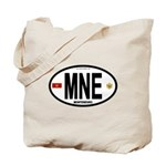 Montenegro Intl Oval Tote Bag