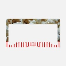 Popcorn Lover License Plate Holder