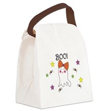 Cute Ghosts Canvas Lunch Bag