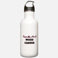 Trust me I'm a Wood Ca Water Bottle