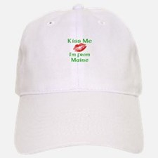 Kiss Me I'm from Maine Baseball Baseball Cap