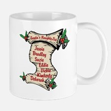 Custom Santa's Naughty List Mugs