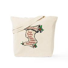 Custom Santa's Naughty List Tote Bag