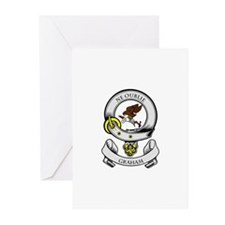 GRAHAM Coat of Arms Greeting Cards (Pk of 10)