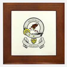 GRAHAM Coat of Arms Framed Tile