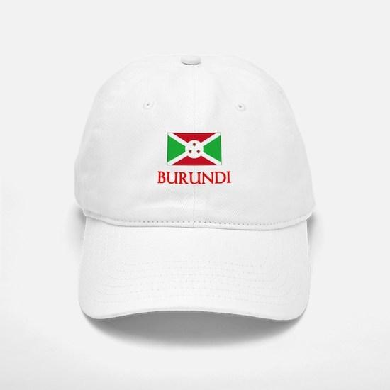 Burundi Flag Design Baseball Baseball Cap