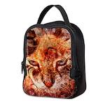 Wood Cat Neoprene Lunch Bag