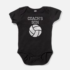 Volleyball Coachs Son Baby Bodysuit