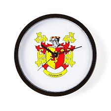 GOODWIN Coat of Arms Wall Clock