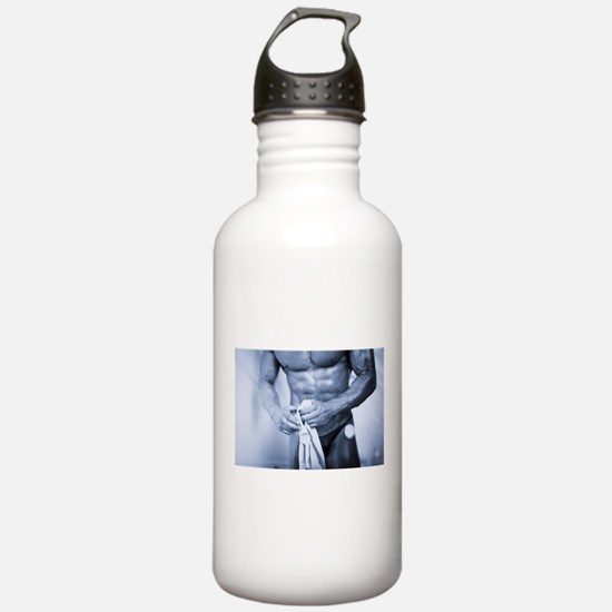 Funny Mr universe Water Bottle