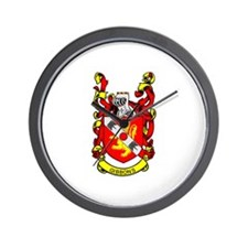 GIBBONS Coat of Arms Wall Clock