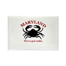 Maryland . . . We've Got Crab Rectangle Magnet