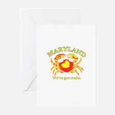 Maryland . . . We've Got Crab Greeting Cards (Pack