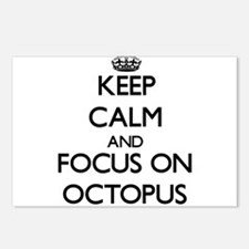 Keep Calm and focus on Oc Postcards (Package of 8)