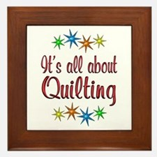 About Quilting Framed Tile