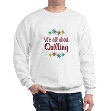 About Quilting Sweatshirt