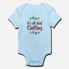 About Quilting Infant Bodysuit