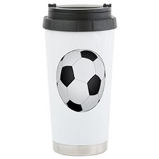 Soccer Ball Travel Mug