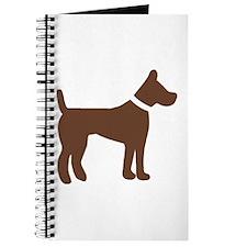 dog brown 1C Journal