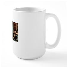 Perched Green Bird Mug