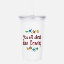 About Line Dancing Acrylic Double-wall Tumbler