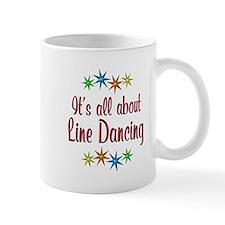 About Line Dancing Small Mug
