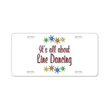 About Line Dancing Aluminum License Plate