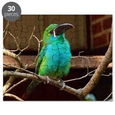 Perched Green Bird Puzzle