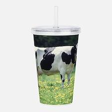 Cow Acrylic Double-wall Tumbler