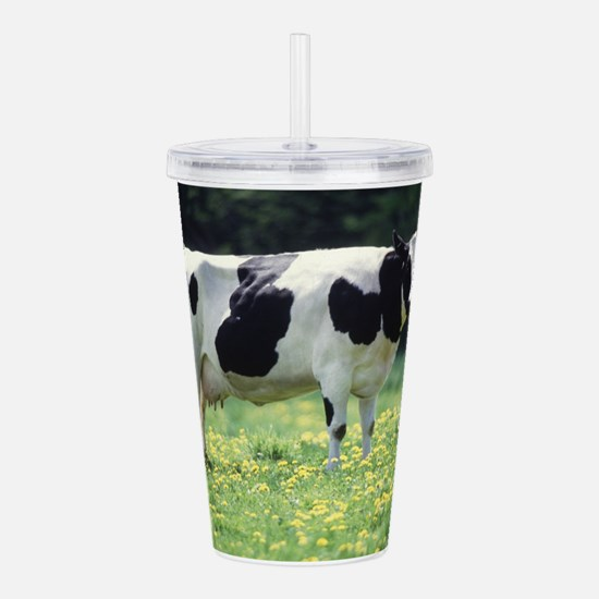 Cow Acrylic Double-wall Tumbler