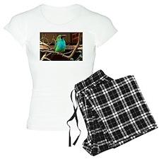 Perched Green Bird Pajamas
