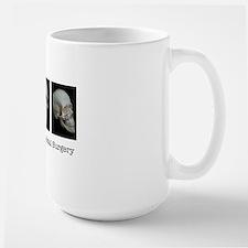 OMS surgical skull Large Mug