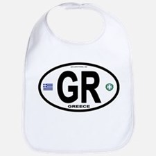 Greece Intl Oval Bib