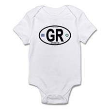 Greece Intl Oval Infant Bodysuit