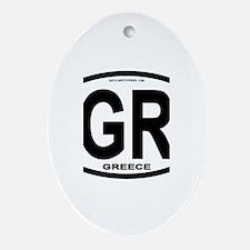 Greece Intl Oval Oval Ornament