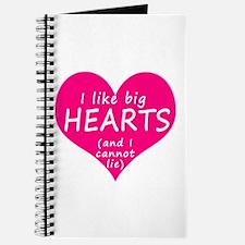 I Like Big Hearts Journal