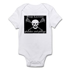 Lacrosse Pirate Infant Bodysuit