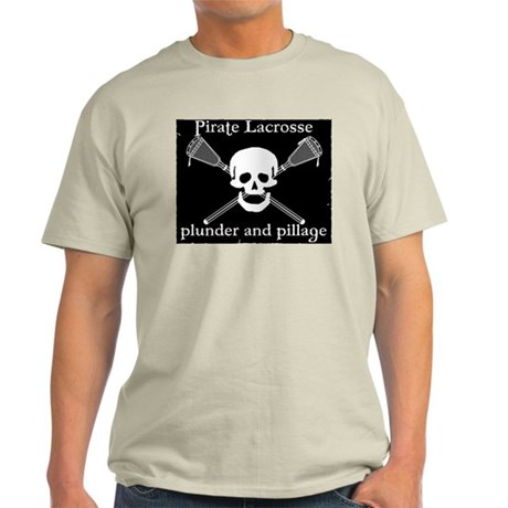 Lacrosse Pirate Light T-Shirt