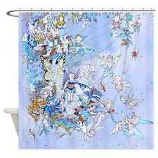Fairy Queen's Web Kids Shower Curtain